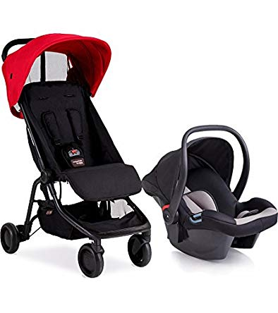 Mountain Buggy Nano - Protect Travel System, Ruby