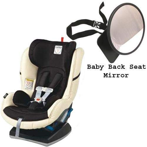 Peg Perego Primo Viaggio Convertible Car Seat w Back Seat Mirror - Paloma