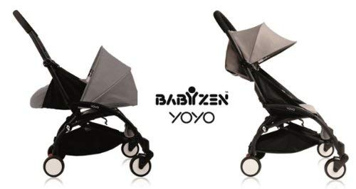 Baby Zen YoYo 0+ and 6+ Black/Grey