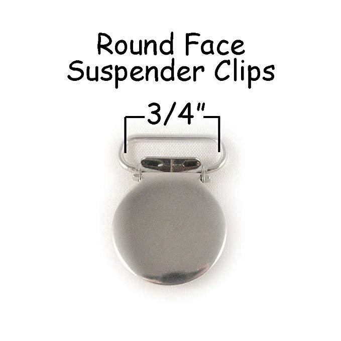 10 Round Face Metal 3/4