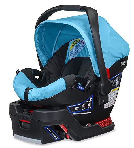 Britax B Safe-35 Infant Seat, Cyan