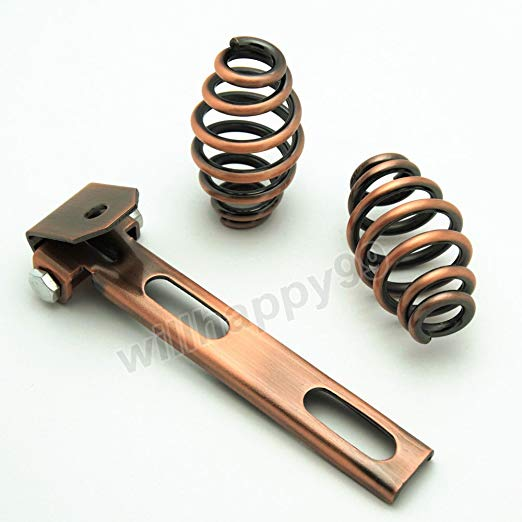 Ma_Motors Solo 3'' Bronze Spring Raising block Brackets Mounting Hardware Fit