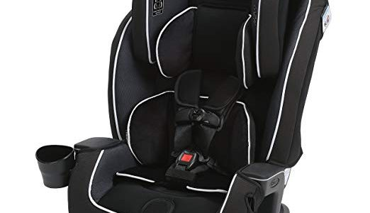 Graco Milestone All-in-1 Convertible Car Seat, Gotham, One Size Review