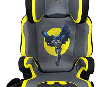 KidsEmbrace Batman Car Seat Booster, DC Comics High Back Seat, Removable Back, Gray Review