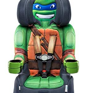 KidsEmbrace Nickelodeon Booster Car Seat, Teenage Mutant Ninja Turtles Leo Combination Seat, 5 Point Harness, Green Review