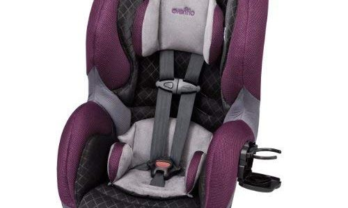 Evenflo SureRide DLX Convertible Car Seat, Sugar Plum by Evenflo Review