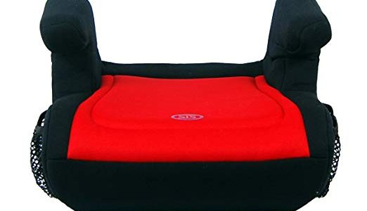 Safe Traffic System Delighter Booster Car Seat, Black/Red, One Size Review