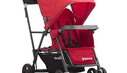 Joovy Caboose Ultralight Graphite Stroller, Red Review