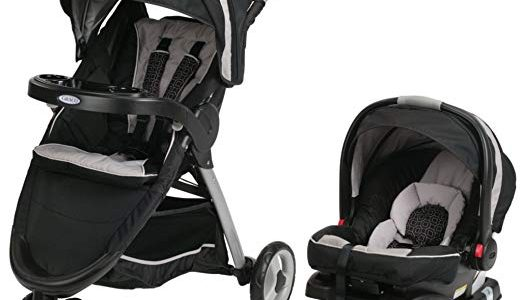 2014 Graco FastAction Fold Sport Stroller Click Connect Travel System, Pierce Review