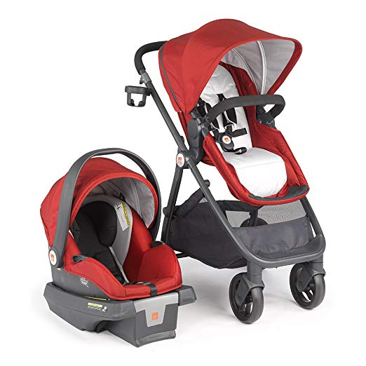 gb Lyfe Travel System, Merlot