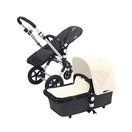 Bugaboo Cameleon 3 with Dark Grey Base and Multiple Color Options (Off White)