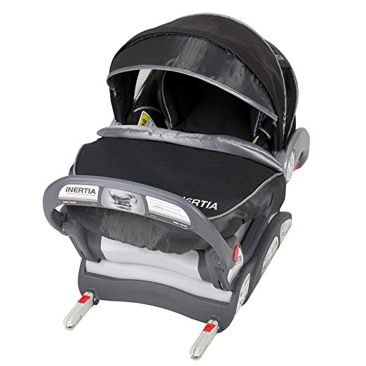 Baby Trend Inertia Infant Car Seat, Black Knight, 5-32 Pounds (Discontinued by Manufacturer)