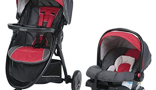 Graco FastAction Sport LX Travel System, Chili Red Review