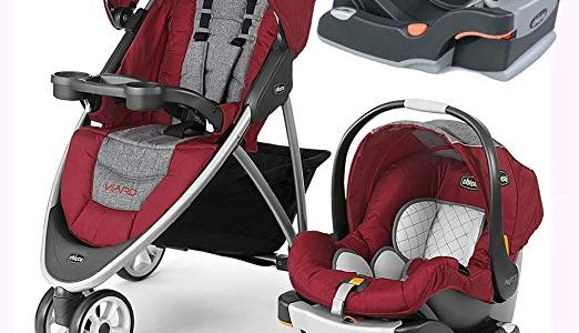 Chicco Viaro Stroller Travel System with Extra Ketyfit 30 Base – Cranberry/Anthracite Review