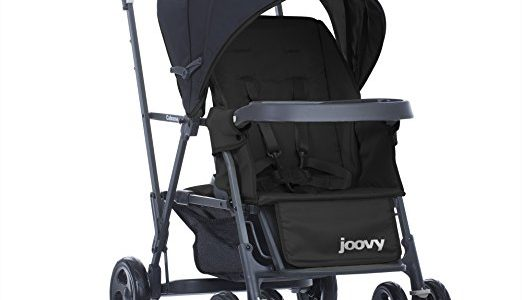 Joovy Caboose Graphite Stand On Tandem Stroller, Black Review