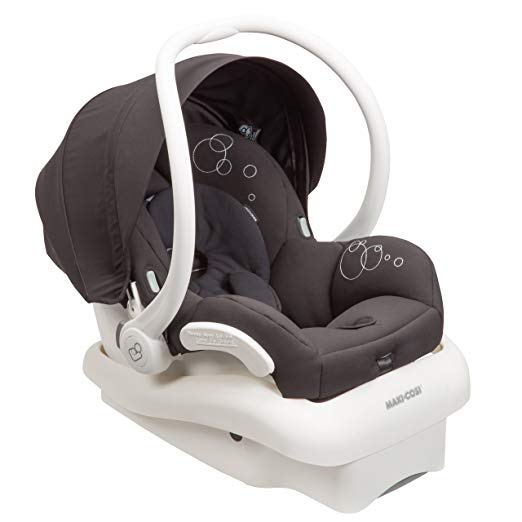 2014 Maxi-Cosi Mico AP Infant Car Seat White Collection, Black, 0-12 Months Prior Model