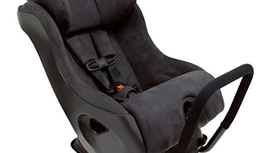 Clek Fllo Convertible Baby and Toddler Car Seat Rear and Forward Facing with Anti Rebound Bar, Noire Review