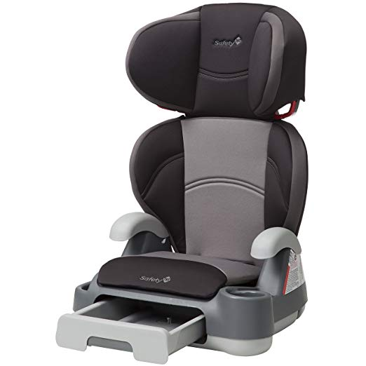 Safety 1st Store 'n Go Belt-Positioning Booster Car Seat (Stone Dust)