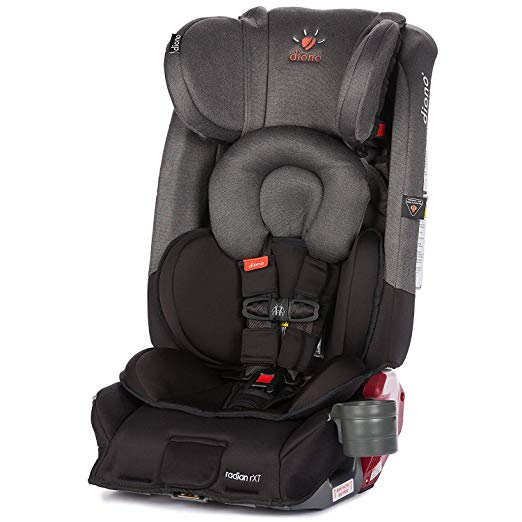 Diono Radian RXT All-in-One Convertible Car Seat, for Children from Birth to 120 pounds, Black Mist