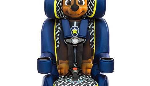 KidsEmbrace Paw Patrol Booster Car Seat, Nickelodeon Chase Combination Seat, 5 Point Harness, Blue Review