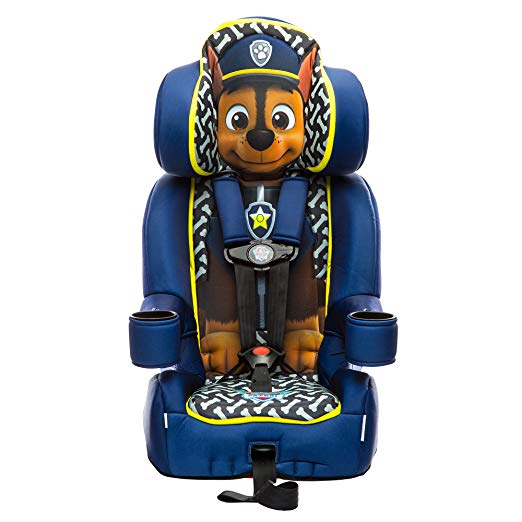 KidsEmbrace Paw Patrol Booster Car Seat, Nickelodeon Chase Combination Seat, 5 Point Harness, Blue