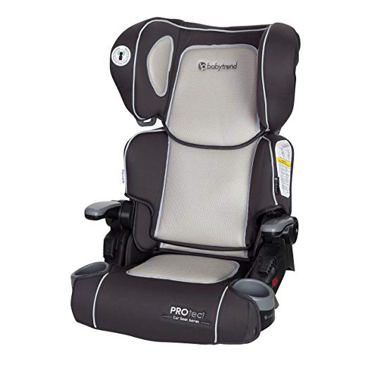 Baby Trend Yumi 2 in 1 Folding Booster Car Seat, Stratus