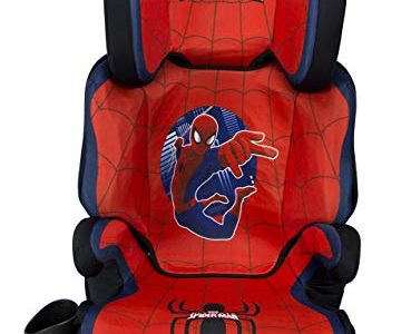 KidsEmbrace Spider-Man Car Seat Booster, Marvel Combination High Back Seat, Removal Back, Red Review