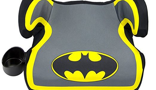 KidsEmbrace Batman Booster Car Seat, DC Comics Youth Backless Seat, Yellow Review
