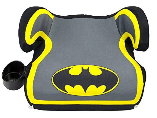 KidsEmbrace Batman Booster Car Seat, DC Comics Youth Backless Seat, Yellow