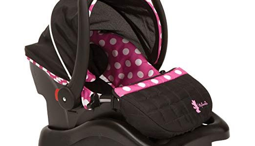 Disney Baby Minnie Mouse Light N Comfy Luxe Infant Car Seat, Minnie Dot (Discontinued by Manufacturer) Review
