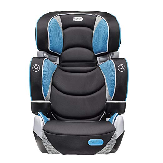 Evenflo Rightfit Booster Car Seat, Capri