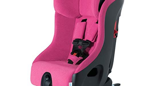 Clek Foonf Rigid Latch Convertible Baby and Toddler Car Seat, Rear and Forward Facing with Anti Rebound Bar, Flamingo 2018 Review