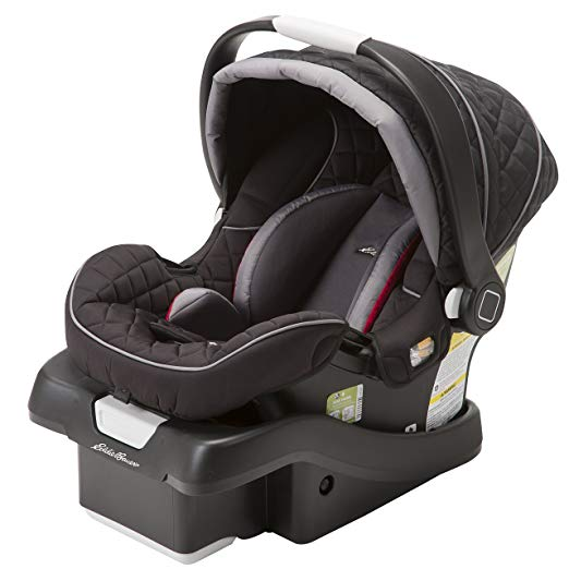 Eddie Bauer SureFit Infant Car Seat, Salsa Red