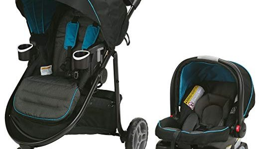 Graco Modes 3 Lite Travel System Stroller, Poseidon Review