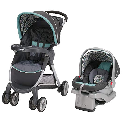 Graco Fastaction Fold Click Connect Travel System, Affinia (Discontinued by Manufacturer)