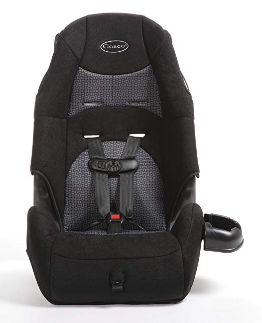 Cosco Juvenile Highback Booster Seat, Nuetral/Tissage (Discontinued by Manufacturer)